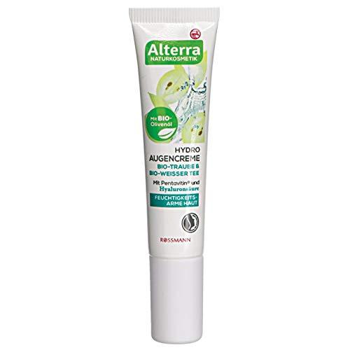 Alterra Hydro Augencreme Bio-Traube & Bio-Weisser Tee, 15 ml