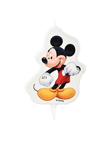 Generique Candela Di Compleanno Mickey 7 X 8.5 Cm