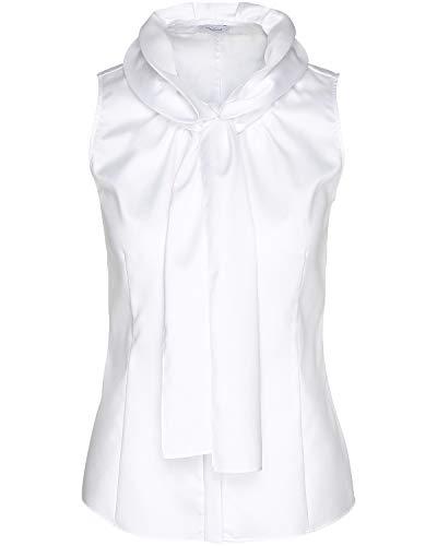 van Laack Damen ADRIENN-NOS Bluse, Weiß (Weiß 000), 42