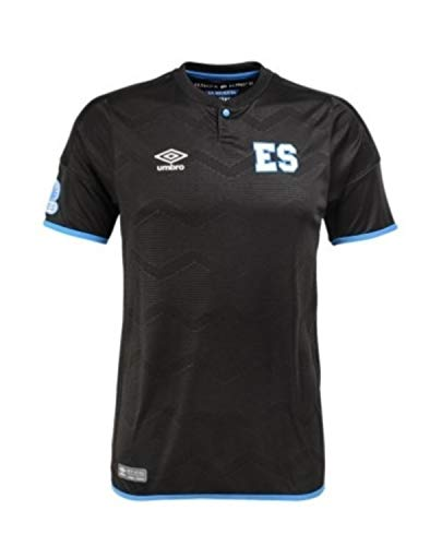 Umbro El Salvador Away Jersey Mens- (Black) (2XL)