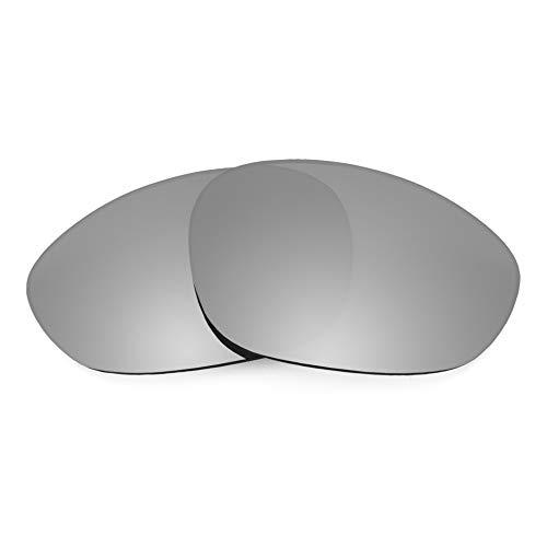 Revant Ersatzgläser für Oakley X Metal XX, Polarisiert, Titan MirrorShield