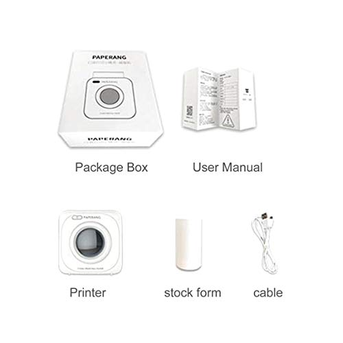 Zinniaya Paperang P1 kleine draadloze fotoprinter voor mobiele telefoons 4.0