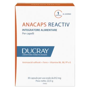ANACAPS REACTIVE DUCRAY 30 CAPSULE