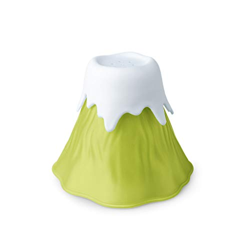 Balvi Pulisci microonde Volcano Colore Verde Plastica PP