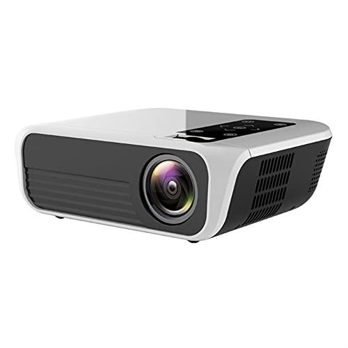 ZXNRTU Impresionante calidad de imagen Proyectores proyector de película proyector portátil Projector1080p, MINI proyectores Home, 20000hours vida de la lámpara, proyector de 3000lumens, Apto for cine