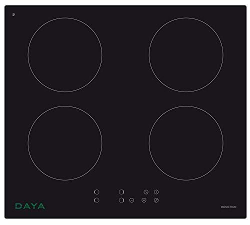 Piano cottura 4 Induzione 4 piastre Incasso di Design Daya