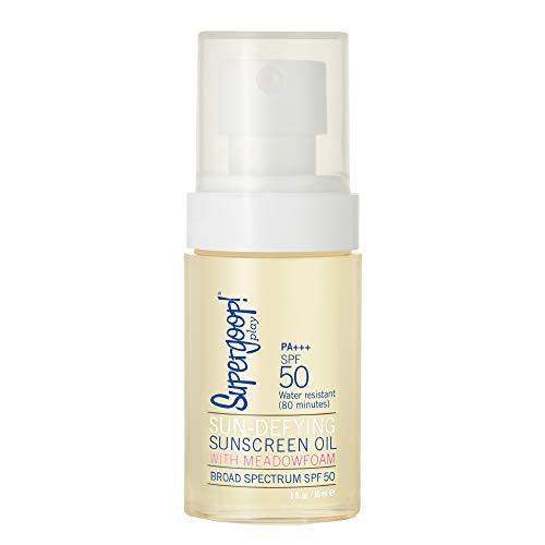 Supergoop! Sun-Defying Sunscreen Oil With Meadowfoam