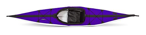 Folbot Touring Kiawah Foldable and Portable Kayak, Purple/Gray, 13-Feet 3-Inch x 24-Inch