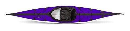 Folbot Touring Kiawah Foldable and Portable Kayak, Purple/Gray, 13-Feet 3-Inch x 24-Inch