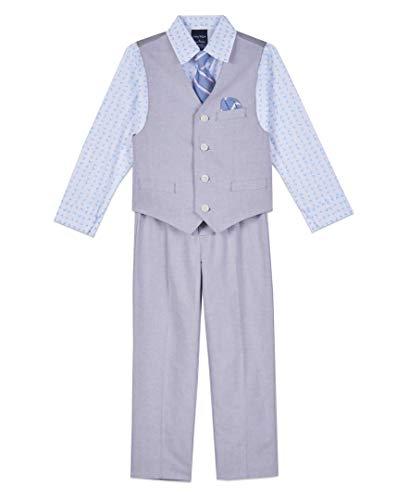 Nautica Dressy Vest Set, Navy, 4