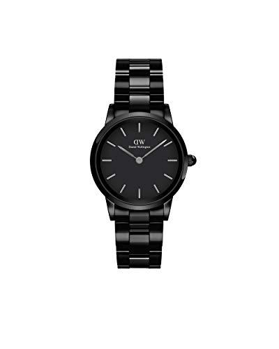 Daniel Wellington Unisex-Uhren Analog Quarz One Size Schwarz 32018154