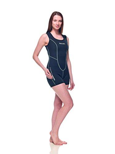 Seac unterzieher Body - 3mm - zweifach Gefüttert - super warme - Damen S