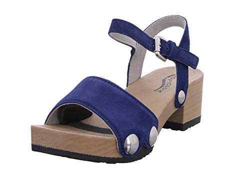 Softclox S3378 Penny - Damen Schuhe Sandaletten - Navy, Größe:39 EU