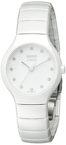 Rado Women's R27696762 True Analog Display Swiss Quartz White Watch