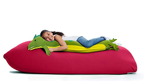 Yogibo Roll Mate Long Stuffed Animal Body Pillow for Kids, Provides Excellent Support and Comfort,...