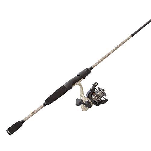 Lews Fishing, American Hero Camo Speed Spin Spinning Combo, 6.2:1 Gear Ratio, 31' Retrieve Rate, 6'...