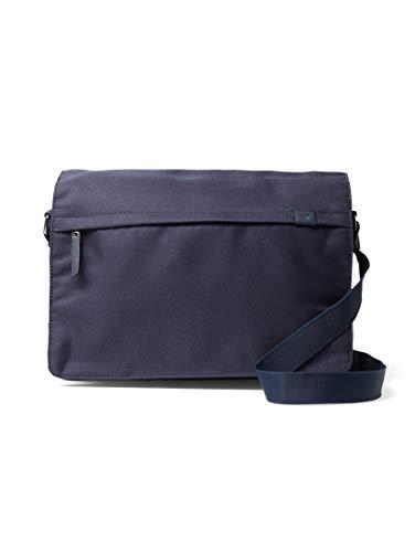 TOM TAILOR Herren Taschen & Geldbörsen Messenger Bag Simon Dark Blue Cognac,OneSize