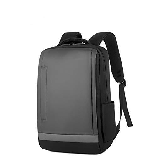 Impermeable de los hombres y las mujeres de la mochila de la escuela de viaje portátil bolsa de carga USB puerto