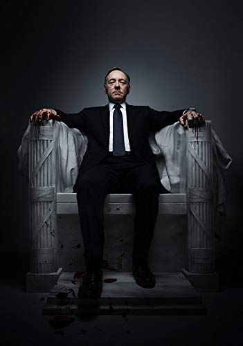 Desconocido House of Cards Serie de TV Póster Foto Series Kevin...