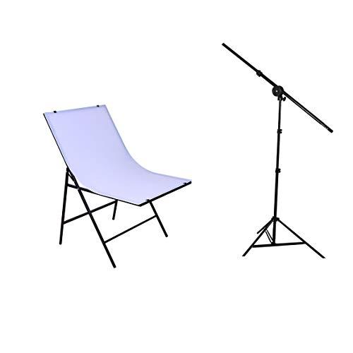Kit de fotografía Mesa de Tiro Softbox Light Stand Kit de cámara para Estudio fotográfico Producto y fotografía de Video JohnJohnsen