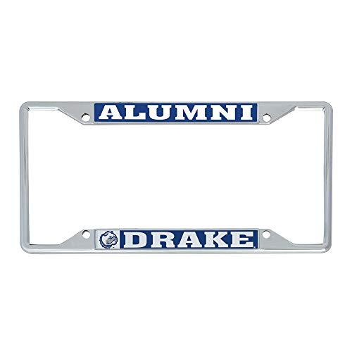 Desert Cactus Drake University Bulldogs NCAA Metal License Plate Frame for Front Back of Car Officially Licensed (Alumni)