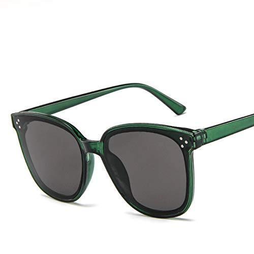 Gafas de Sol Sunglasses Star Style Trend Rice Nail Gafas De Sol Mujer Gafas De Sol De Gran Tamaño Gafas De Sol Vintage Al Aire Libre C8Anti-UV