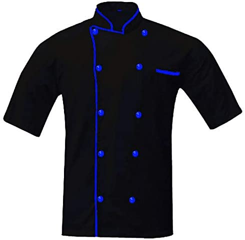 ORTHOX Executive Max 53% OFF Max 76% OFF Colored Piping Men's Chef Unisex Chef'Jack Coat