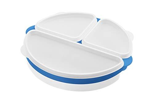 Premier Housewares Boîte Micro-Ondes 3 pièces – Blanc