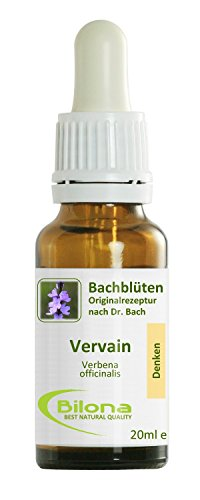 Joy Bachblüten, Essenz Nr. 31: Vervain; 20ml Stockbottle