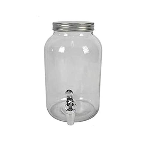 DUE ESSE - Tarro de cristal con grifo (5,5 L)