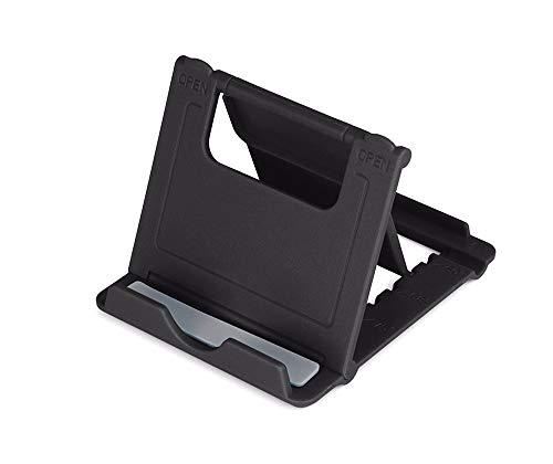 Base soporte para móvil ajustable - multiángulo - plegable para smartphones, tablets, Iphones, antideslizante - Colores varios
