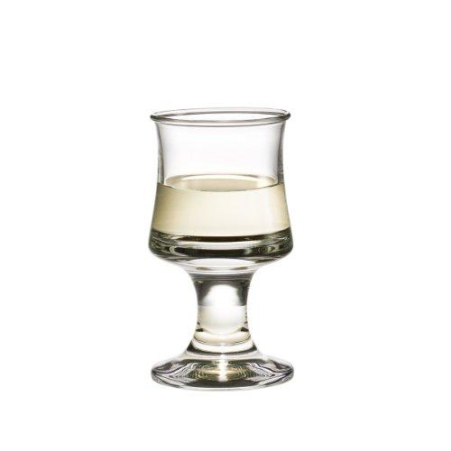 Holmegaard 4302202 Skibsglas Weißweinglas, Glas