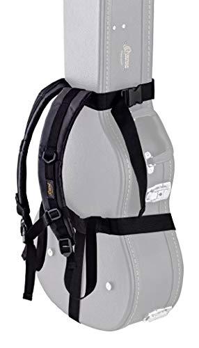 ORTEGA Back Pack Strap - Black Flat (OBPS)