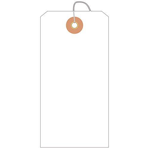 タカ印 タグ 25-170 布荷札 防水加工 大 1000枚 白