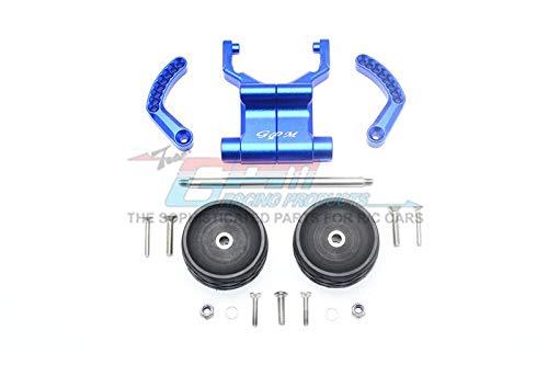 GPM for Traxxas E-Revo VXL 2.0 / E-Revo Brushless Upgrade Parts Aluminum Rear Adjustable Wheelie - 1 Set Blue