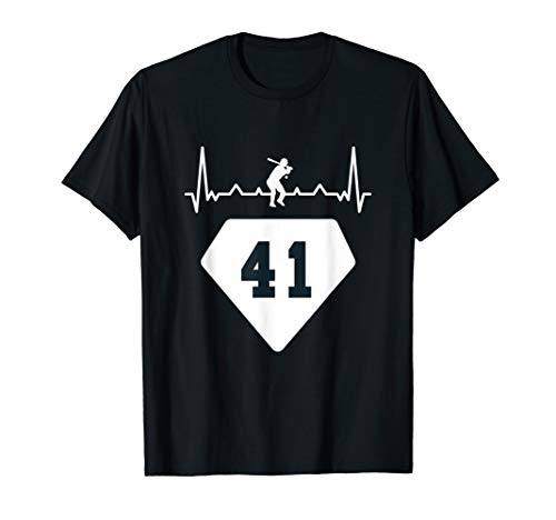 Baseball number 41 for fans and players T-Shirt