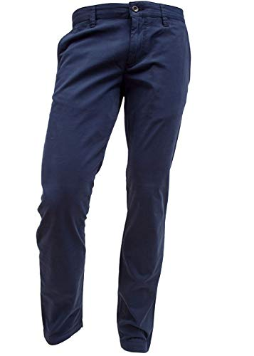 ALBERTO Garment Dyed Pima Cotton Chino Modell Lou in 34/32