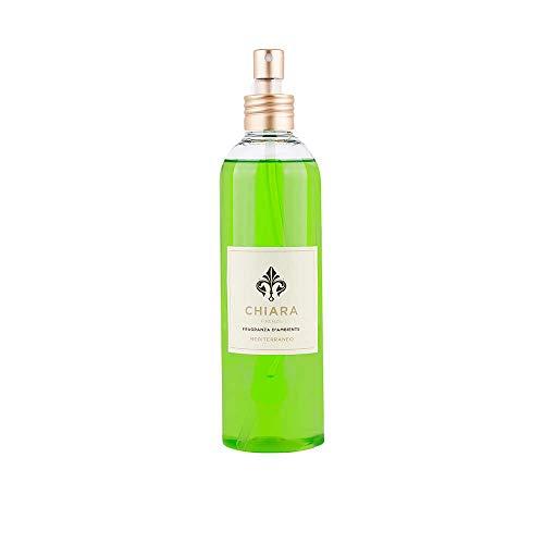 CHIARA FIRENZE Bote en spray para ambiente, 250 ml, fragancia Mediterráneo.