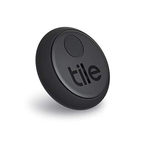 Tile Sticker (2020) - Laptop Finder, TV Remote Finder, Camera Finder, Skateboards and Bicycle - Sticks to Anything Locator - Non-Retail Packaging - 1 Pack