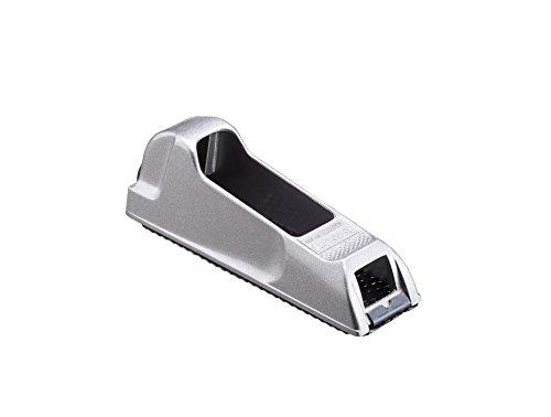 Stanley Surform Blockhobel (mit Metallkorpus, umstellbares Blatt, Blattlänge 140 mm, Gesamtlänge 155 mm, zum Hobeln, Feilen, Formen, Glätten, Abziehen und Raspeln) 5-21-399