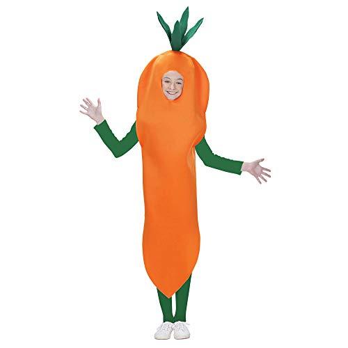 WIDMANN Aptafêtes?Disfraz de Zanahoria para niños