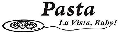 Zitate Pasta La Vista Baby Wandaufkleber Esszimmer Aufkleber Poster Vinyl Kunst Aufkleber PVC Dekoration Küche Dekorationen 152x41 cm