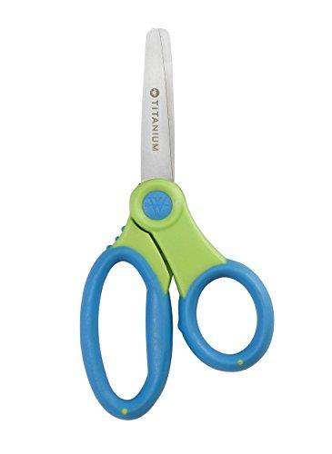 Westcott Kids Titanium Bonded Scissors, Blunt, 5