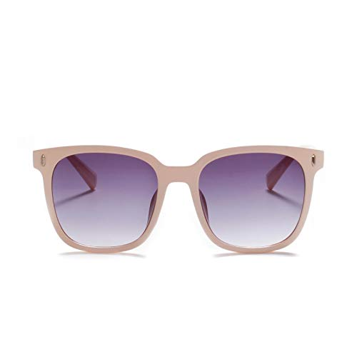 JINZUN Gafas de Sol de Moda Retro Remache Tendencia Gafas de Sol Protección UV al Aire Libre Unisex Beige
