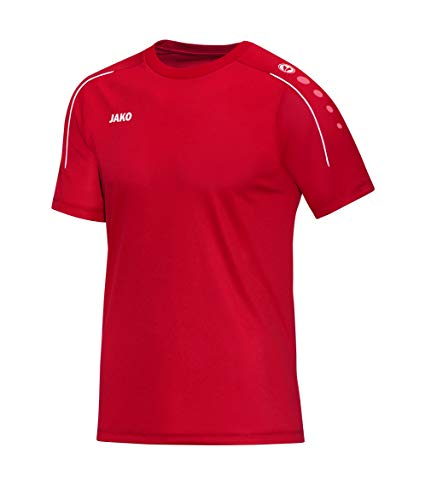 JAKO Kinder T-shirt Classico, rot, 140, 6150