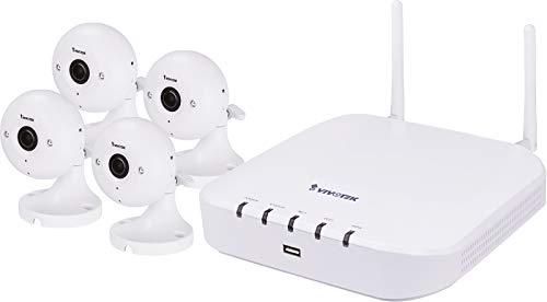 VIVOTEK WiFi NVR Bundle nd8212W + ip8160W–Rete Fotocamera, 199003710G