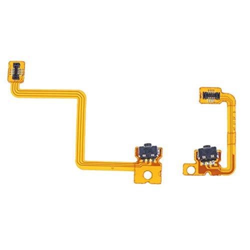 YuYue Reemplazo de Cable Flexible Compatible con Botones Nintendo 3DS N3DS Repuesto L + R Derecha Izquierda (no Apto para 3DS XL)