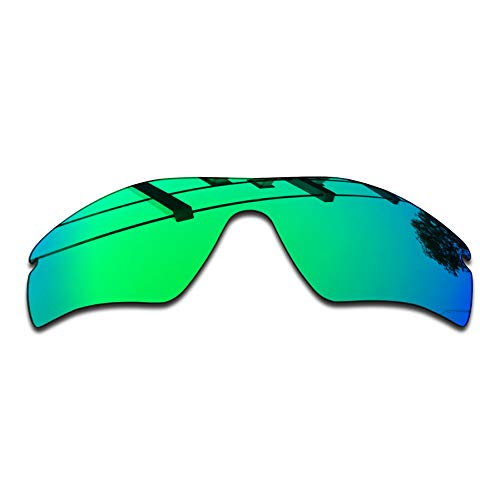 SEEABLE Premium Polarized Mirror Replacement Lenses for Oakley Radar Path Sunglasses - Jade Mirror