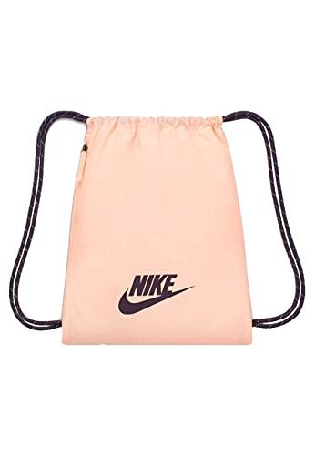 Nike Unisex Heritage 2.0 Sportbeutel, Crimson Tint/Dark Raisin/Dark Raisin, One Size, misc