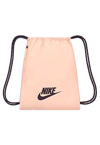 NIKE BA5901-814 NK HERITAGE GMSK - 2.0 Sports bag womens crimson tint/dark raisin/(dark raisin) MISC
